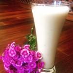 Shake mit Blume