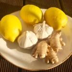 Zitronen.Knoblauc.Ingwer